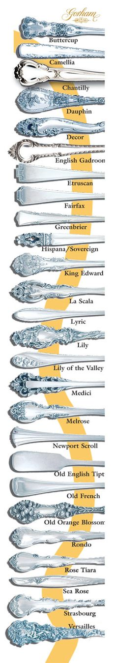 I'm a fairfax Love vintage Gorham silver. Particularly Old Orange Blossom, buttercup, and lily patterns. Versailles, king edward, la scala are nice too. In other words the more ornate the better