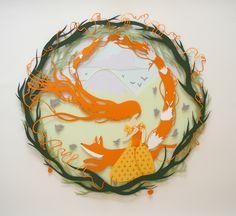 Paper cut illustration by Sarah Dennis