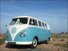 Vw Van Blue & white