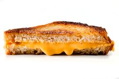 Grilled Cheese and Creamy Tomato Soup Dinner Party: BA Daily...Grandma taught me that dill pickles taste amazing on grill cheese, I would've never thought of that.