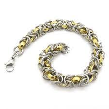 Image result for gold bracelets for men designs