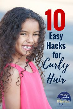 10 Easy Hacks for Curly Biracial Hair