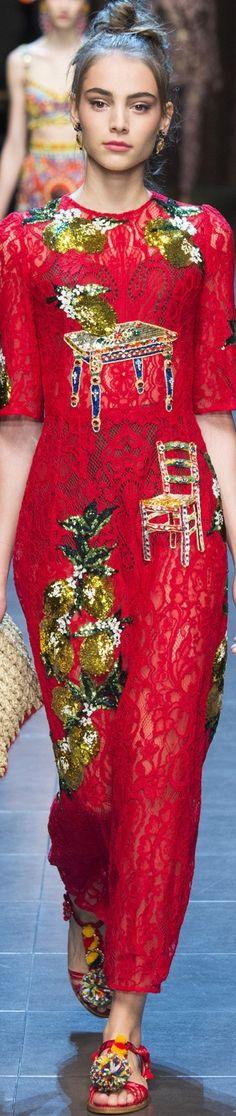 Dolce and Gabbana, SpringSummer, 2016