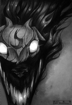 LoL - Kindred (The Wolf) by kapiheartlilly.deviantart.com on @DeviantArt