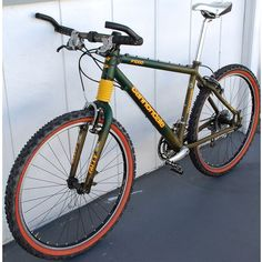 The guy is asking and the bike looks to be in mint condition. Cool Bicycles, Cool Bikes, Retro Bicycle, Retro Bikes, Mtb, Delta V, Cannondale Mountain Bikes, Mountain Biking Women, Transportation Technology