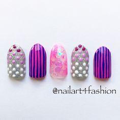 Gel nail design! ネイルサンプル⭐︎|はにのグルメブログNYC Arts & Foods by HANI