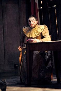 Chris Jared as a Player in Hamlet. Photo by Keith Pattison.