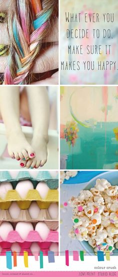 colour crush post on love print studio blog