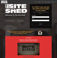 The Site Shed is a Business Podcast for tradies and contractors, combined with an online training facility.