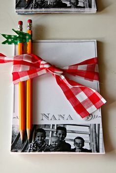 Just Another Day in Paradise: Project Homemade Christmas Presents: Personalized Notepads