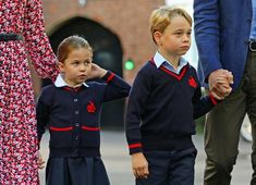 Princess Charlotte arrives for her first day at school with Prince William, Kate Middleton Kate Und William, Prince William Et Kate, Kate Middleton Prince William, Elizabeth Ii, Kate Middleton Kids, Kate Middleton Photos, Prince Georges, Hugh Grosvenor, Royal Nursery