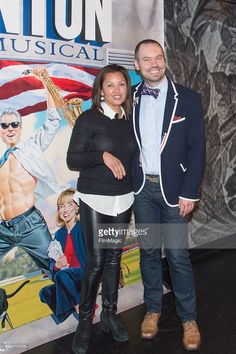 Vanessa Williams (L) and Director Dan Knechtges attend the 'Clinton the Musical' Opening Night Curtain Call at New World Stages on April 9, 2015 in New York City. (Photo by Mark Sagliocco/FilmMagic)