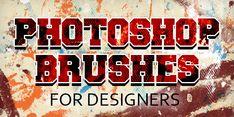 Photoshop Brushes: 25 Sets of Free Brushes for Designers