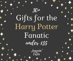 Give your favorite Harry Potter fan some fun Harry Potter gifts to use in the kitchen- everything from mugs and aprons to some fun cookware and dishes.
