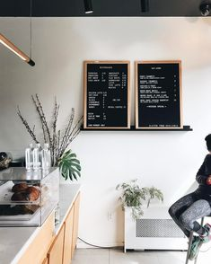 Three Seat Espresso & Barber, New York Photo: Dianne Elizabeth #cafe #coffeehouse