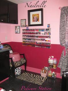 In home nail salon nails pinterest home nails and for Admiral nail salon