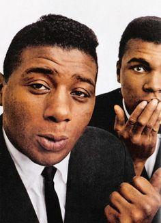 Floyd Patterson & Muhammad Ali