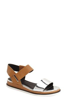 Calvin Klein 'Cadan' Demi Wedge Sandal (Women) available at #Nordstrom