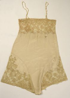 Teddy Date: 1929 Culture: American or European Medium: silk, cotton Accession Number: 1976.198.25