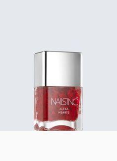 Alexa Chung Hearts Nail polish