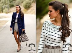 Stripes and sequins