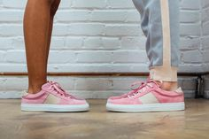Greats Brand x Orley Pink Suede Royale