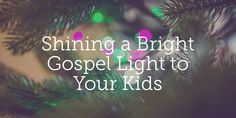 Passing on your faith to your kids isn't nearly as simple as passing on a box of Christmas lights. It requires prayer, a faithful godly influence, and the work of the Holy Spirit.