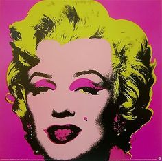 Marilyn Pink, Offset Lithograph, Andy Warhol