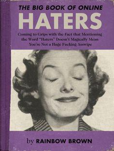 Hilarious PSAs About Online Behavior Presented As Vintage Book Covers - DesignTAXI.com