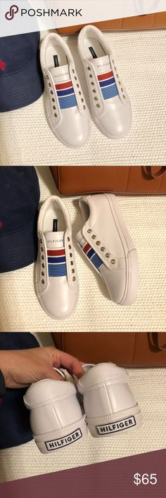 New Tommy Hilfiger sneakers New never worn TH white sneakers Tommy Hilfiger Shoes Sneakers