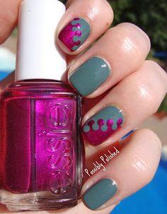 Cute nail art concept!