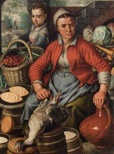 "Joachim Beuckelaer - ""Market Woman""  1561"