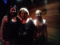 Elliane Faria (cantora0, Nara Nadyle Valente (filha do compositor baiano Assis Valente) e Flávia almas (jornalista). — com Eliane Faria, Nara Nadyle Valente e Flávia Almas.