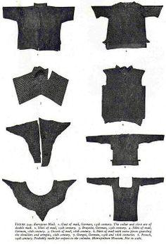 Armor parts made of chain mesh, European - Diy Armour Arm Armor, Body Armor, Larp, Samurai, Leather Armor, Medieval Armor, Effigy, Chain Mail, Panzer