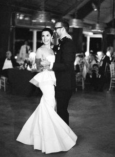 Real life Oscar De La Renta wedding gowns. So precious
