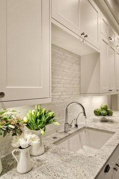 77 Eye-Catching Kitchen Design Ideas With Stone Tile