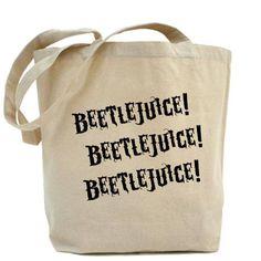 Beetlejuice Beetlejuice Beetlejuice Tote Bag!!
