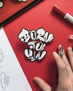 snooze one - lettering artist ( Graffiti Lettering Alphabet, Graffiti Words, Hand Lettering Art, Font Art, Graffiti Drawing, Types Of Lettering, Pencil Art Drawings, Street Art Graffiti, Graffiti Artists