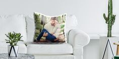 Photo Pillow: Particularly soft pillow from a refined satin. ✅ An elegant, personalized photo pillow with fluffy filling. Custom Cushion Covers, Custom Cushions, Personalized Wall Decor, Personalized Items, Soft Pillows, Throw Pillows, Photo Pillows, Special Images, Photo Canvas