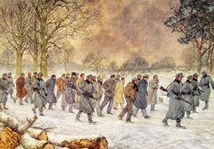 Naar het concentratiekamp - januari 1945