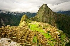 Peru! I want to do the four-day Inca Trail hike in the Andes Mountains with my husband! That would be quite an experience!