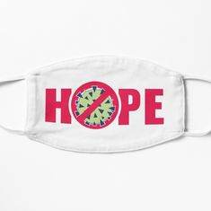 'Hope outbreak' Mask by hitpointer Make A Donation, Mask Design, Snug Fit, Chiffon Tops, Printed, Awesome, Stuff To Buy, Products, Art