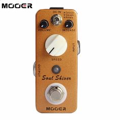 Guitar Pedals - 58.88$ Buy here - aipts.worlditems.... - NEW Effect Guitar Pedal /MOOER SoulShiver Three effect modes: Chorus/ Vibrato/ Rotary free shipping