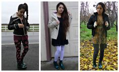 """3 Outfits for a Pair of Rain Boots"" link here: http://dollhouselucy.blogspot.com/2014/12/3-outfits-for-pair-of-rain-boots.html #fbloggers #dollhouselucy #style #ootd #rainboots"