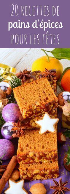20 recettes de pains d'épices pour les fêtes !