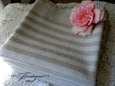 Vintage Handtücher - Leinen Handtuch - ein Designerstück von kissentraeume-original bei DaWanda