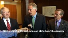 """McAuliffe: 'Huge headwinds' for Virginia economy 