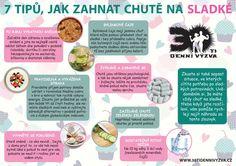 7 tipů jak zahnat chutě na sladké - 30ti denní výzva Glycemic Index, Herbalife, Food Inspiration, Gym Workouts, Cooking Tips, Health And Beauty, Meal Planning, Healthy Lifestyle, Health Fitness