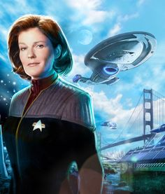 Janeway is awesome. There is no other option I will accept.