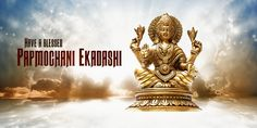 Tomorrow is the day to observe Papmochani Ekadashi. Mythology claims that a young sage by the name of Medhavi, in order to relieve his sins, he observed the Papmochani Ekadashi and kept a fast in honour of Lord Vishnu. Devotees, too, follow the same traditions to observe a fast and chant Lord Vishnu's mantras to relieve them of their sins. #PurityOfPrayer